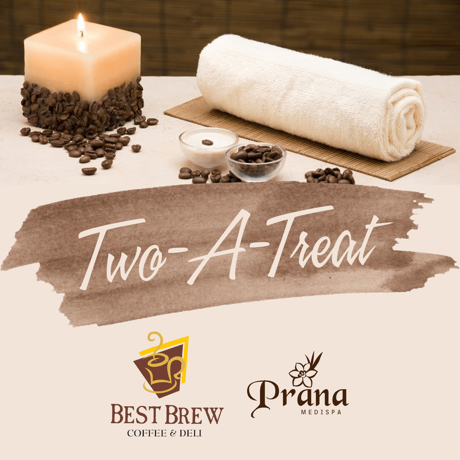Prana Medispa x Best Brew Cafe October Promo: Two-a-Treat