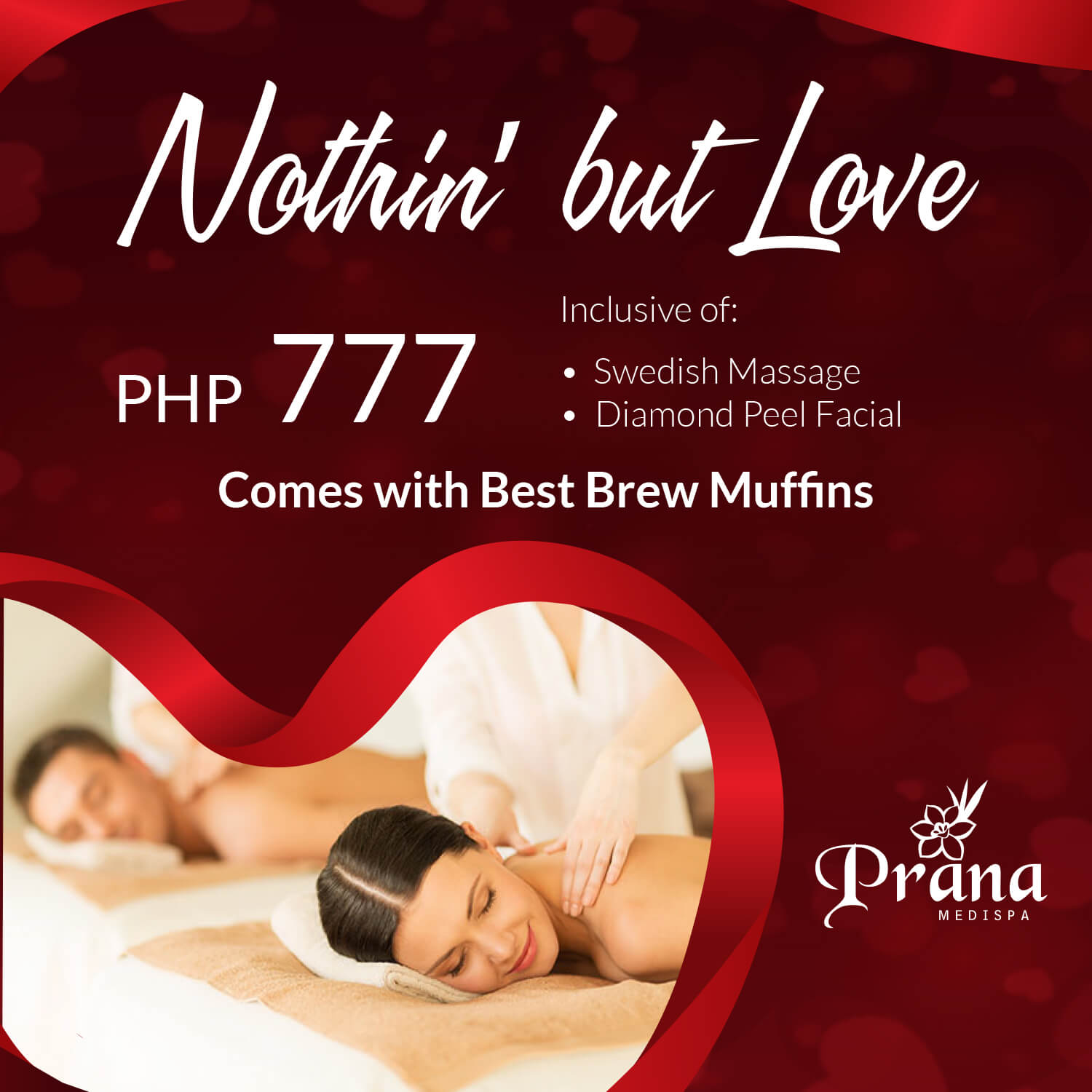Prana Medispa February Promo: Nothin' but Love Promo Packages 2019